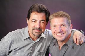 Joe Mantegna and Joe Sabatino