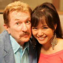 Harvey Kalmenson and host Yi Tian