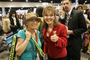Pepper Jay and Sarah Palin imposter