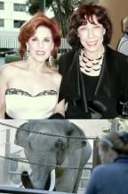 Kat Kramer and Lily Tomlin