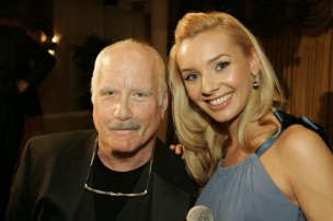 Richard Dreyfuss and Desiree Anderson