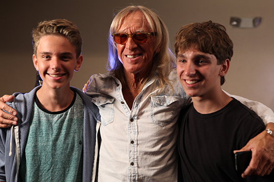 Charlie Johnstone, Davey Johnstone, and Ben Babylon