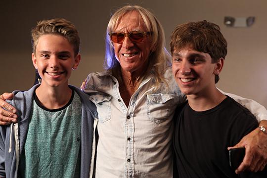 Charlie Johnstone, Davey Johnstone, and Ben Babylon