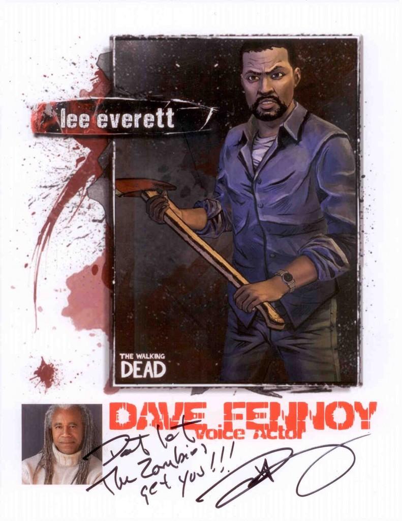 Dave Fennoy Walking Dead
