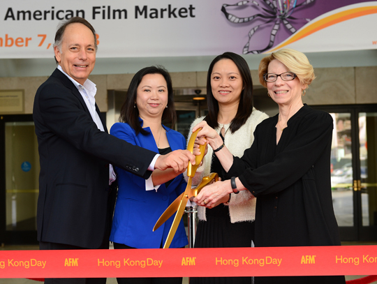 Hong Kong Day Ribbon Cutting Ceremony