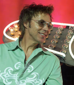 John Mahon in Las Vegas for The Red Piano, 2008