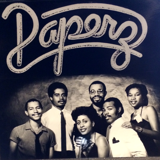 In the late 70's with the band Paperz