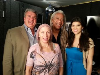 Kurt Kelly, Pepper Jay, Dave Fennoy, and Kristina Nikols