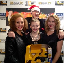 EZ, Laci Kay and her dancers Kelyla Nelson & Faithy J