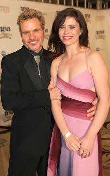 Marty and his Daughter at Night of 100 Stars