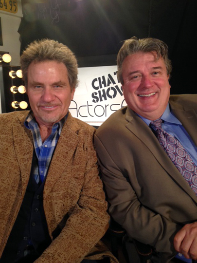 Martin Kove and Kurt Kelly