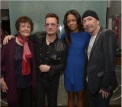 Bono U2 Mandela Tribute