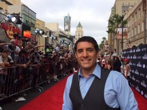 Danny Pardo on red carpet premiere Planes 2
