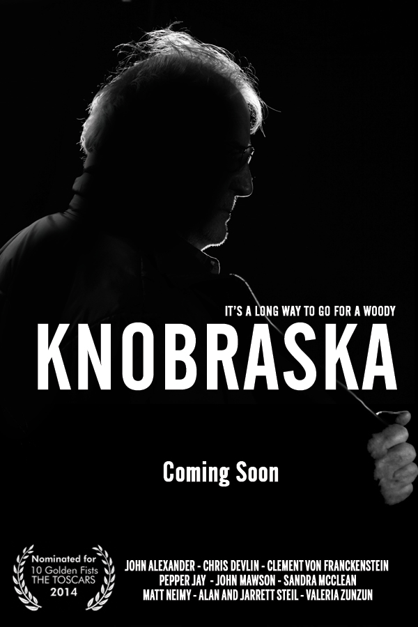 Knobraska Poster - photo art by John Michael Ferrari