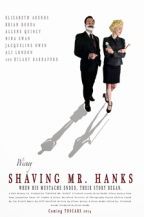 Shaving Mr. Hanks