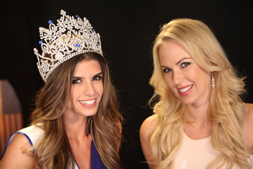Vanessa Golub, Miss West Coast and Tara Rice