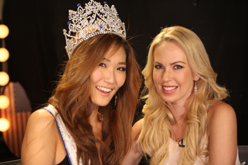 Allison Kim, 1st runner-up Miss West Coast and Tara Rice