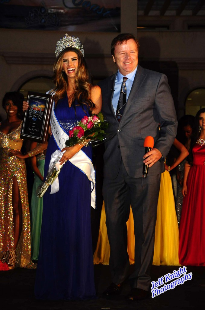 Miss West Coast 2014 and Pageant Host Steve Nave