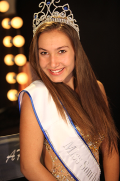 Masha Shadchina, 1st runner-up Miss West Coast Teen