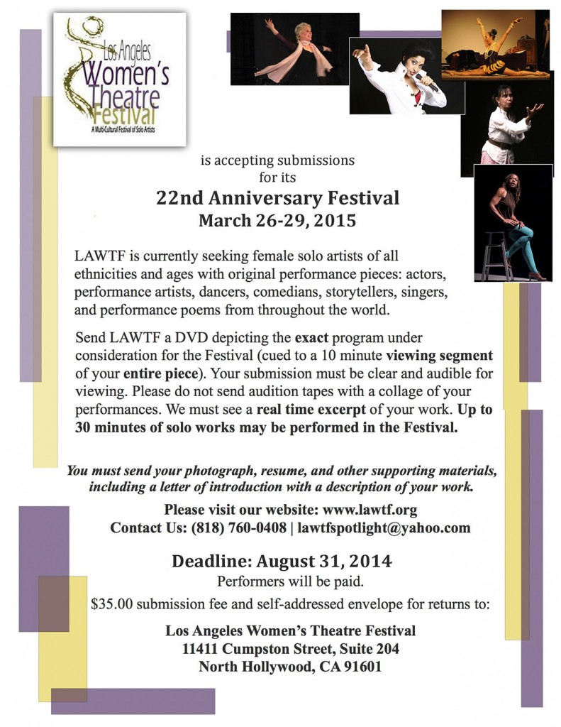 Festival 2015 Submission Flyer