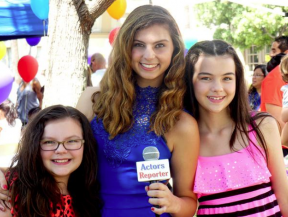 Taylor Hay with Marlowe Peyton and Merit Leighton