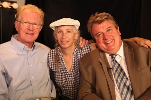 Actor Ed Begley Jr, producer Pepper Jay and host Kurt Kelly on Actors Reporter Interviews