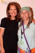 Congresswoman Michele Bachmann and Producer Pepper Jay
