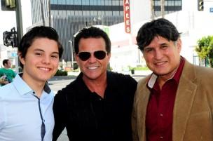 Zach Callison, Ed Callison, and John Michael Ferrari