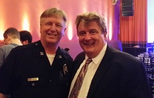 Capt Dave Storaker LAPD and Kurt Kelly