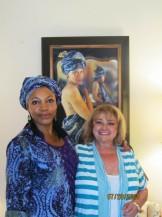 Yona Rapoport with Ada at Kaleidescope Reception