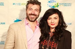 Emanuele Secci and Bianca Munoz