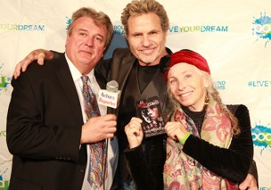 Host Kurt Kelly, actor Martin Kove, Producer Pepper Jay