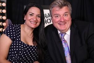 Lisa Caprelli and Kurt Kelly on ActorsE Chat