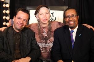 Salvador Carrasco, Pepper Jay, and Ron Brewington