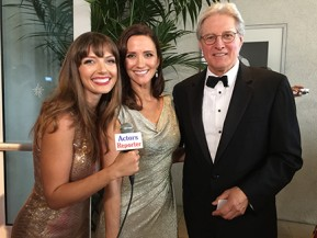 Bruce Boxleitner and  his dauther and Julie-Kathleen Langan