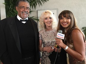 Rosey Grier and Julie-Kathleen Langan