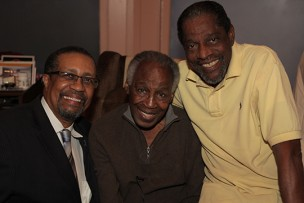 Ron Brewington, Robert Guillaume, and John Wesley