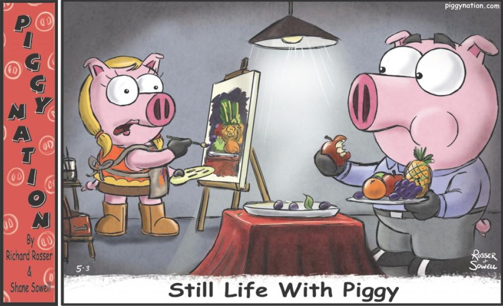 Still Life with Piggy