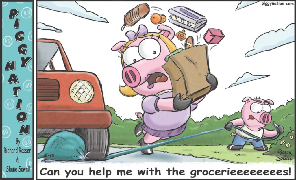 Can you help me with the groceries?