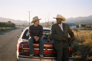 Bill Duke and Lou Taylor Pucci in The Go-Getter (2007)