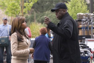 Bill Duke and Taraji P. Henson in Not Easily Broken (2009)