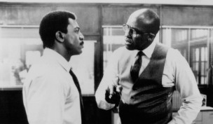 Carl Weathers and Bill Duke in Action Jackson (1988)