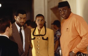 Laurence Fishburne and Bill Duke in Deep Cover (1992)
