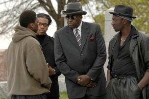 Still of Bill Duke and 50 Cent in Get Rich or Die Tryin' (2005)
