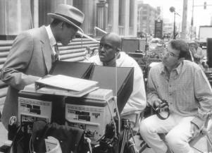 Laurence Fishburne, Bill Duke and Frank Mancuso Jr. in Hoodlum (1997)