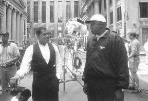 Laurence Fishburne and Bill Duke in Hoodlum (1997)