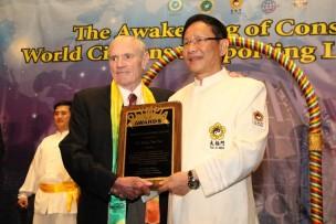 Alan Friedman and Dr. Hong