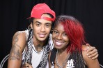 Rapper Jaronie with Sonia Harley on Sidebeat Music