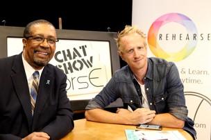 Ron Brewington and Darren Darnborough on ActorsE Chat