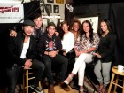 Some of the actors and dancers from Hulu's East Los High on ActorsE Chat Show
